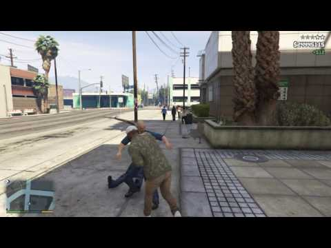 GTA V HOW TO USE BRASS KNUCKLES