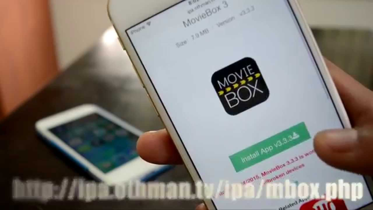 How to get MovieBox on iOS 9 - 9.1 without jailbreak - (iPhone ...