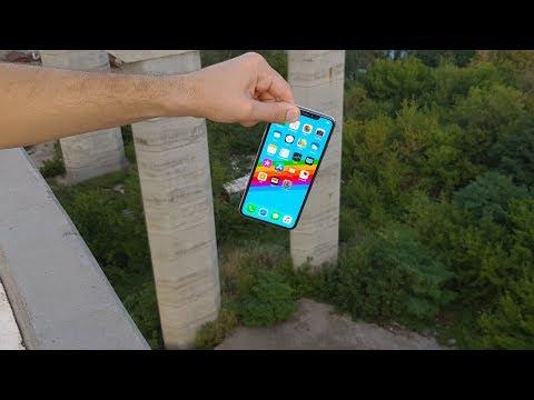 iPhone XS MAX vs Tallest Bridge  Drop Test   What Will Happen