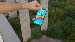 iPhone XS MAX vs Tallest Bridge  Drop Test   What Will Happen