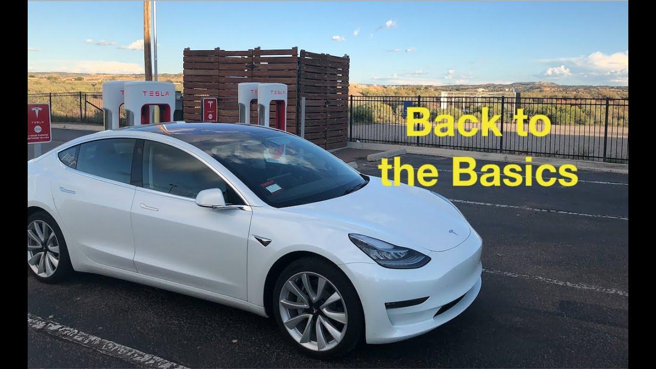 Tesla Model 3 Back To The Basics