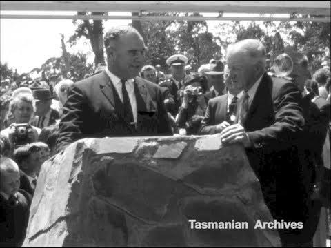 Opening Of The Murchison Highway, Tasmania (13 Dec 1963)