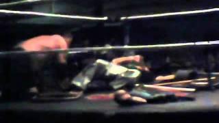 NWA Battlezone 4/30/11 Damien Storm vs. The Rockstar hardcore match