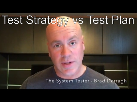 The System Tester - Difference between Test Strategy and Test Plan