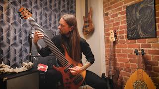 """First Fragment - Le Serment De Tsion Fretless Bass Playthrough by Dominic """"Forest"""" Lapointe"""