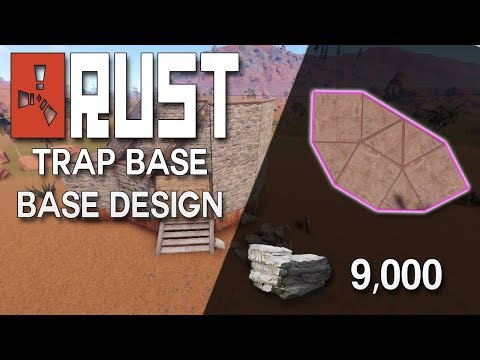 Rust trio base design no blueprints needed expandable rust base no blueprints needed rust trap base design rust base building 9000 stone malvernweather Images