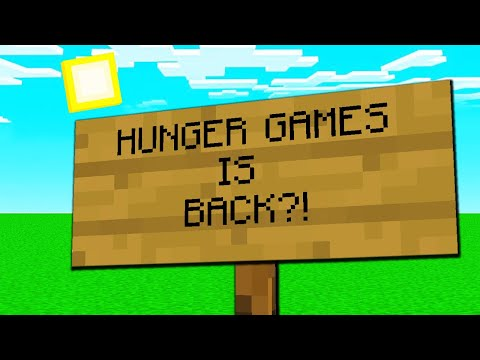 MINECRAFT HUNGER GAMES Is... BACK!?
