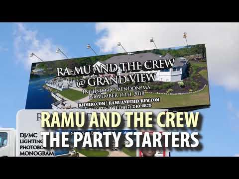 GRANDVIEW MENDON WEDDING || BOSTON WEDDING DJ || RA-MU AND THE CREW