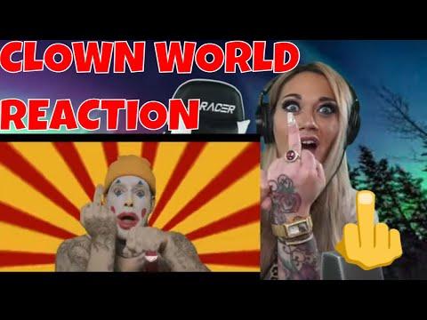 Tom MacDonald CLOWN WORLD (REACTION) | JUST JEN REACTS TO NEW TOM MACDONALD