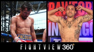 PACQUIAO THE UNDERCARD FIGHTER? PACQUIAO VS ALVARADO PREVIEW! HORN CRAWFORD CO-MAIN ESPN PPV 4/14?