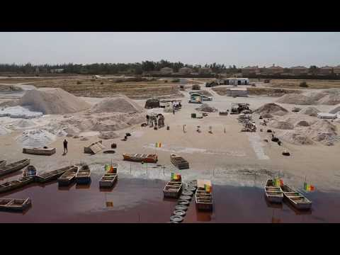Senegal Travel | Lac Rose from the Sky