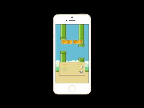 Crappy Flappy Bird Gameplay using Reflector