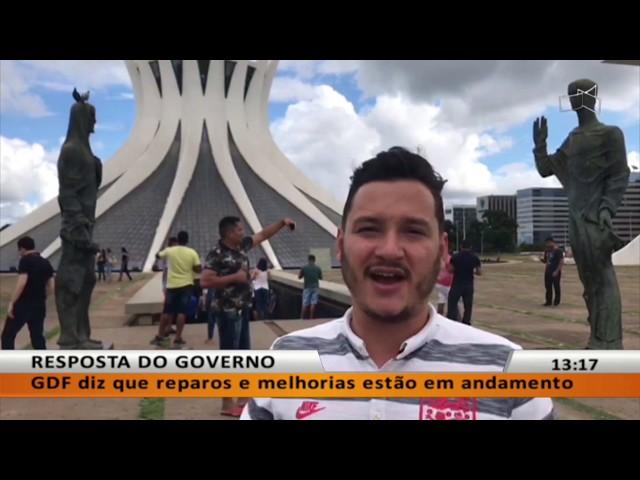 JL - Pontos turísticos de Brasília precisam de manutenção