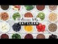 10 REASONS WHY YOU NEED TO EAT CLEAN & WHOLE FOODS | Ti Sonders
