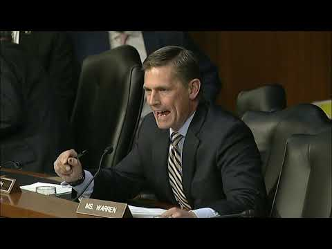 Heinrich Questions Top Military Official On Trump's National Security Declaration