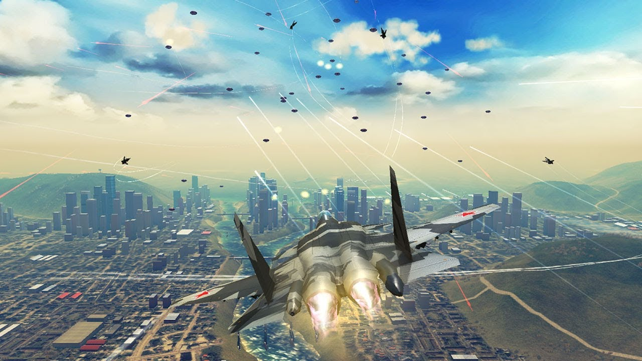 Plane Fighting Games >> Top 10 Most Realistic Air Combat Games For Android 2017 Youtube