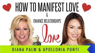 How To Manifest Love & Enhance Relationships | Interview Medium & Spiritual Healer Diana Palm