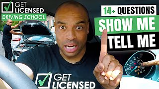 Show Me, Tell Me 2019 Driving Test Questions and Answers