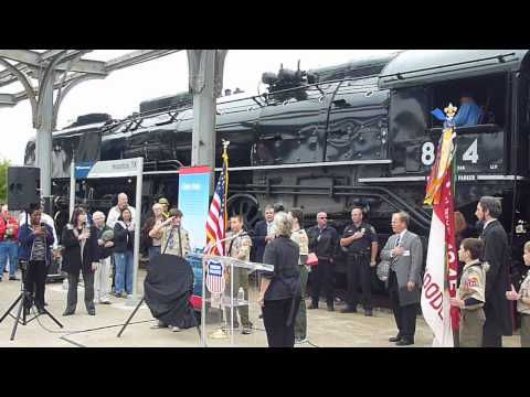 Union Pacific Steam Locomotive 88 - 150th Anniversary