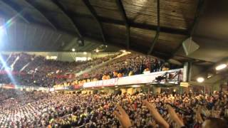 Sheffield united fans singing greasy chip butty - Manchester united away - FA CUP 2016