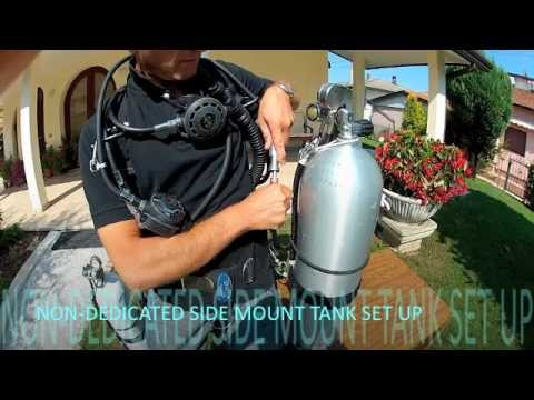 Non Dedicated Side Mount Tank Set Up Youtube