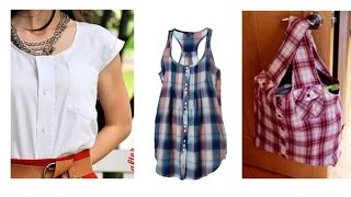10 Ways to Reuse or Recycle old Shirts | Learning Process