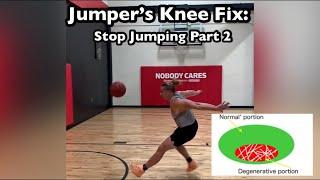 Jumper's Knee: Stop Jumping Part 2 (Fix Patellar Tendinopathy)