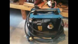 DIY Harbor Freight wire feed welder upgrade