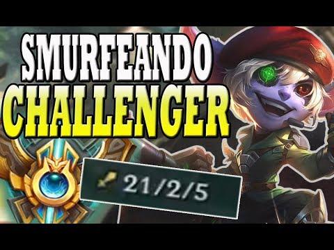 SMURF DE CHALLENGER REVIENTA MUY FUERTE CON TRISTANA ADC | League of Legends | Drake Rajanj thumbnail