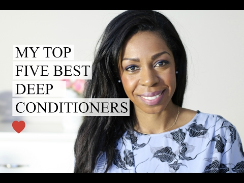 My Top 5 Favourite Deep Conditioners