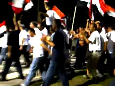 Pro Bashar al Assad Rally in Antigua 02-04-2011
