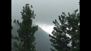 Monsoon in Murree Pakistan with Indian Song Kahan Se Aye Badra ,By Zafar Iqbal Raheem..mpg