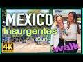 4k WALK Mexico City 4k INSURGENTES CDMX slow tv TRAVEL VIDEO