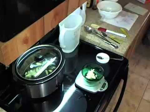 Part 1 of Oatmeal Honey Shea Butter Soap