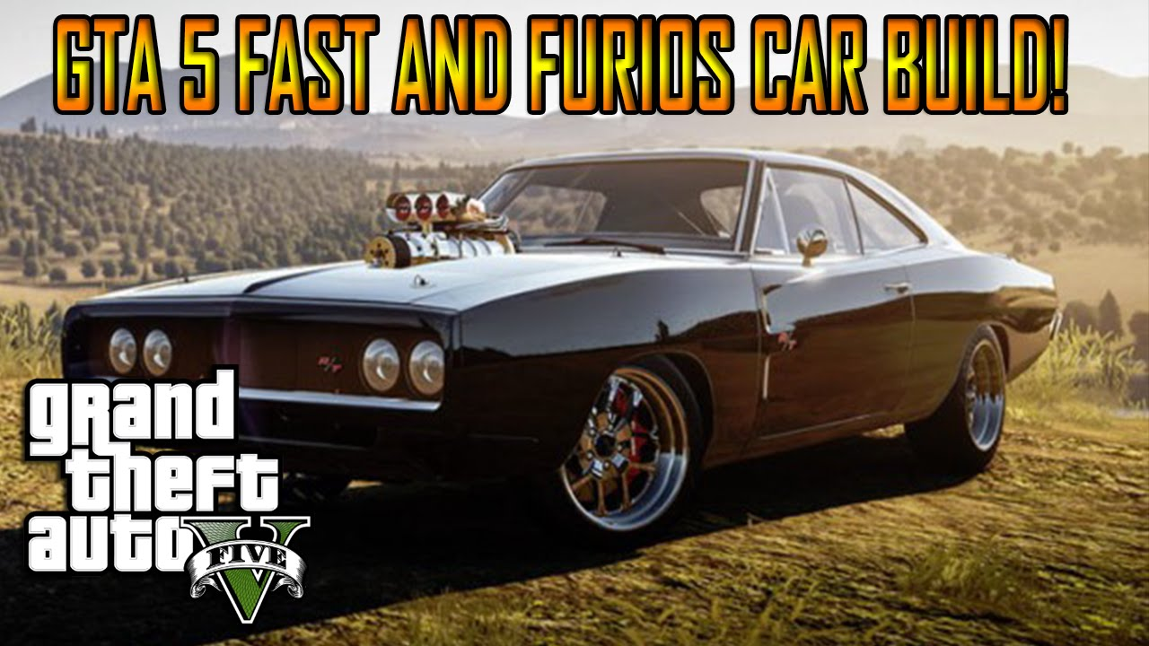 Gta 5 Online Fast And Furious Car Build How To Make Dom S Car