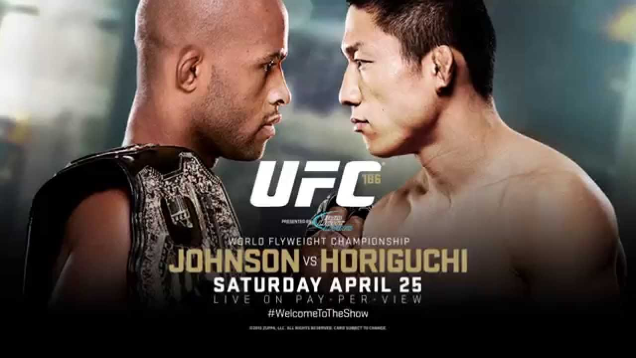UFC 186: Johnson vs Horiguchi - Extended Preview - YouTube