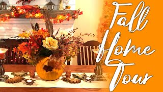A PUMPKIN SPICED HOUSE! 2019 Fall Home Tour - from clearance items, too!