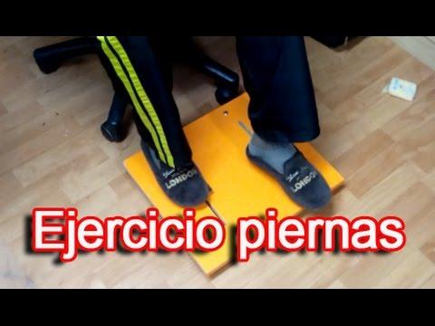 piernas para hacer ejercicios