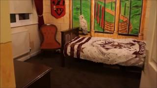 Harry Potter themed bedroom by jamiebdesigns