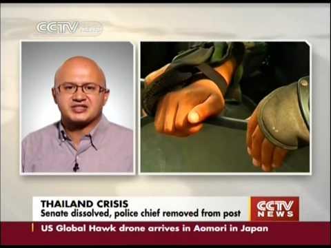 Thai military leader dissolves senate