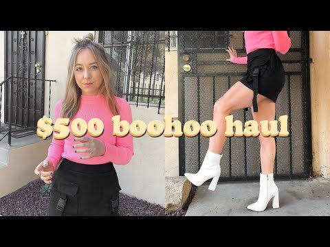 WHAT $500 FROM BOOHOO LOOKS LIKE