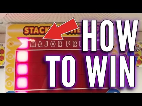 How To Win On The Stacker Arcade Machine | Arcade Games Tips