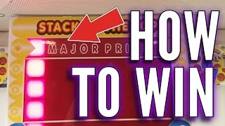 How To Win On The Stacker Arcade Machine | Arcade Games Tips & Tricks