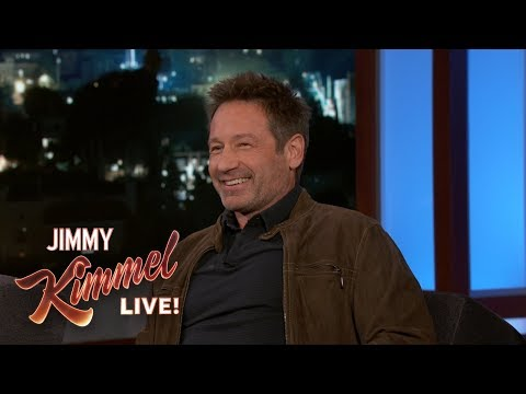 David Duchovny on New Year's Eve in New York