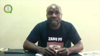 Godfrey Tsenengamu responds to Dr Grace Mugabe #263Chat