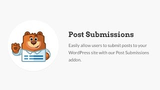How to Allow Post Submissions From the Frontend