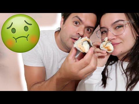 VLOG #35 // Sushis Maison Et ça FINIT MAL !!!