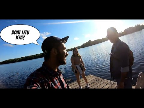 CANADA KE GAON | ROSSEAU LAKE , FLEMING COLLEGE | ONTARIO, CANADA | TRAVEL VLOG