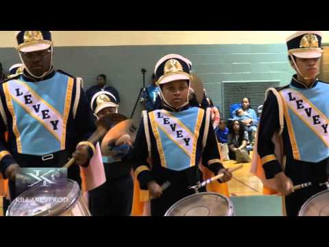 Levey Middle School Marching Band - Percussion - 2016
