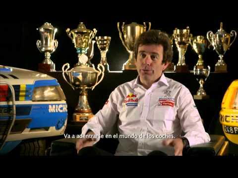 Presentación Team Peugeot Total - Carlos Sainz